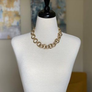 J Crew Gold chain necklace